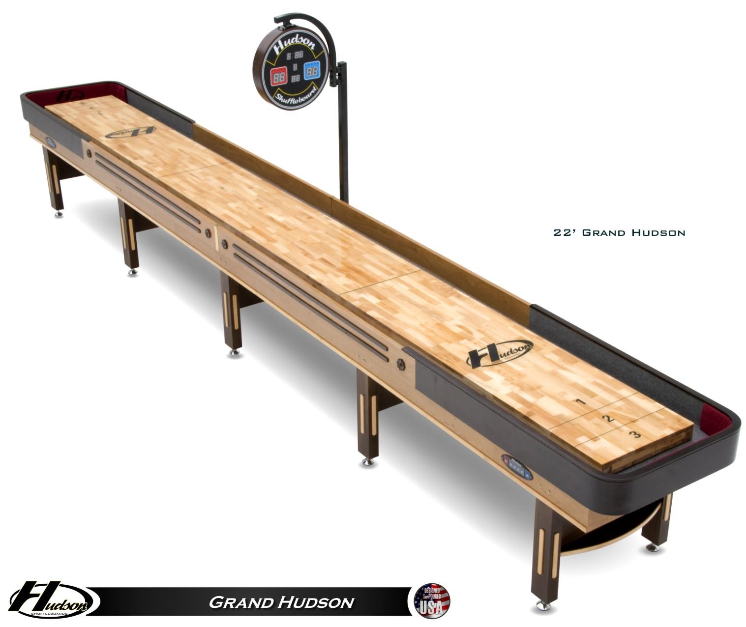 Genial 14u0027 Grand Hudson Shuffleboard Table