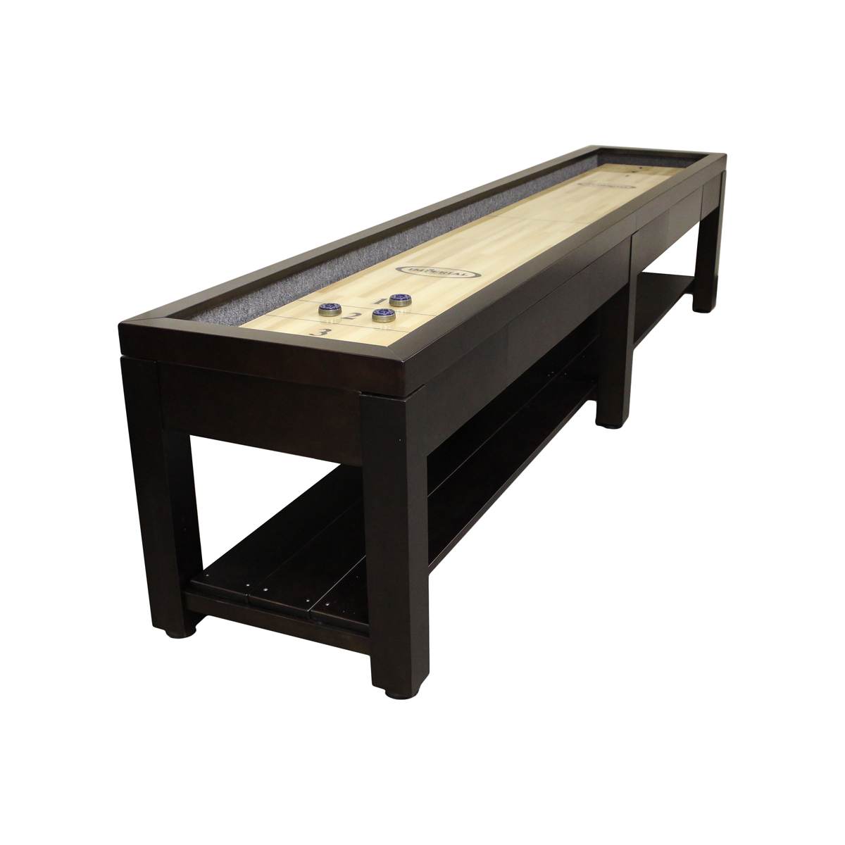 12-ft. Shuffleboard Table with dining top