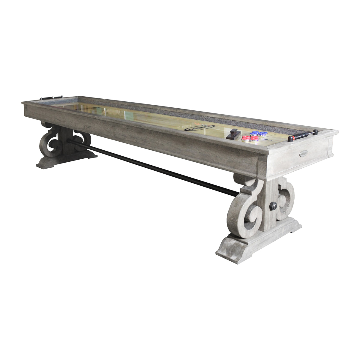 12-ft. shuffleboard table