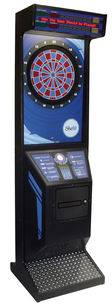 Eye 2 Electronic Dartboard Cabinet