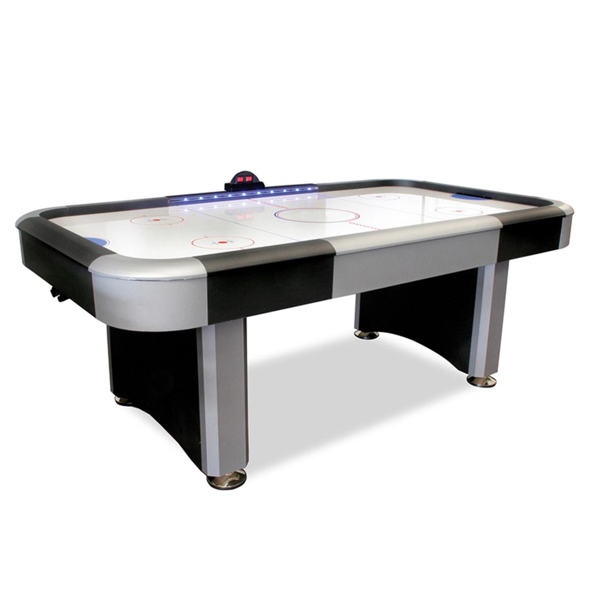 7 Electra Lighted Rail Air Hockey Table