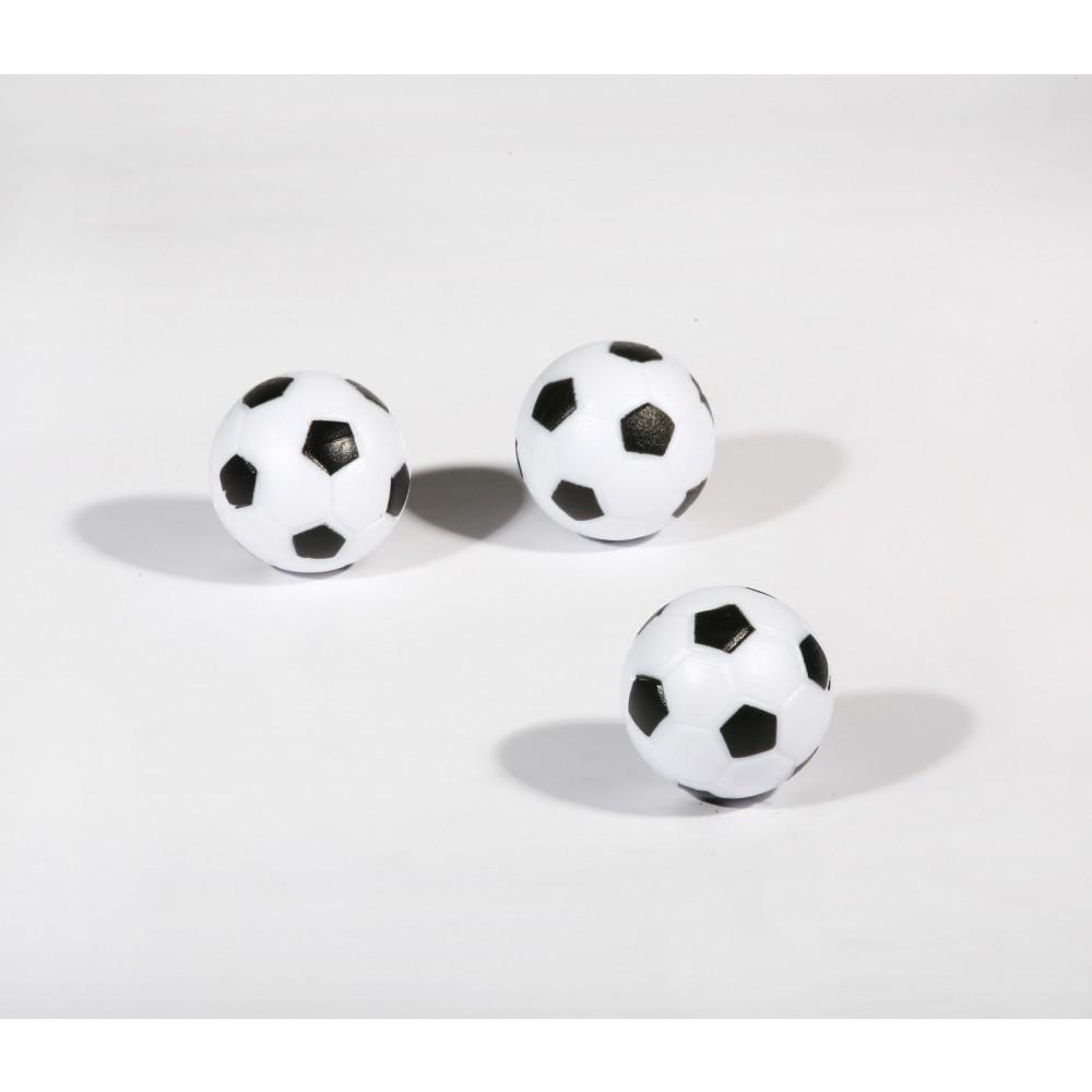 Soccer Ball Style Foosballs 3 Pack Gametablesonline Com