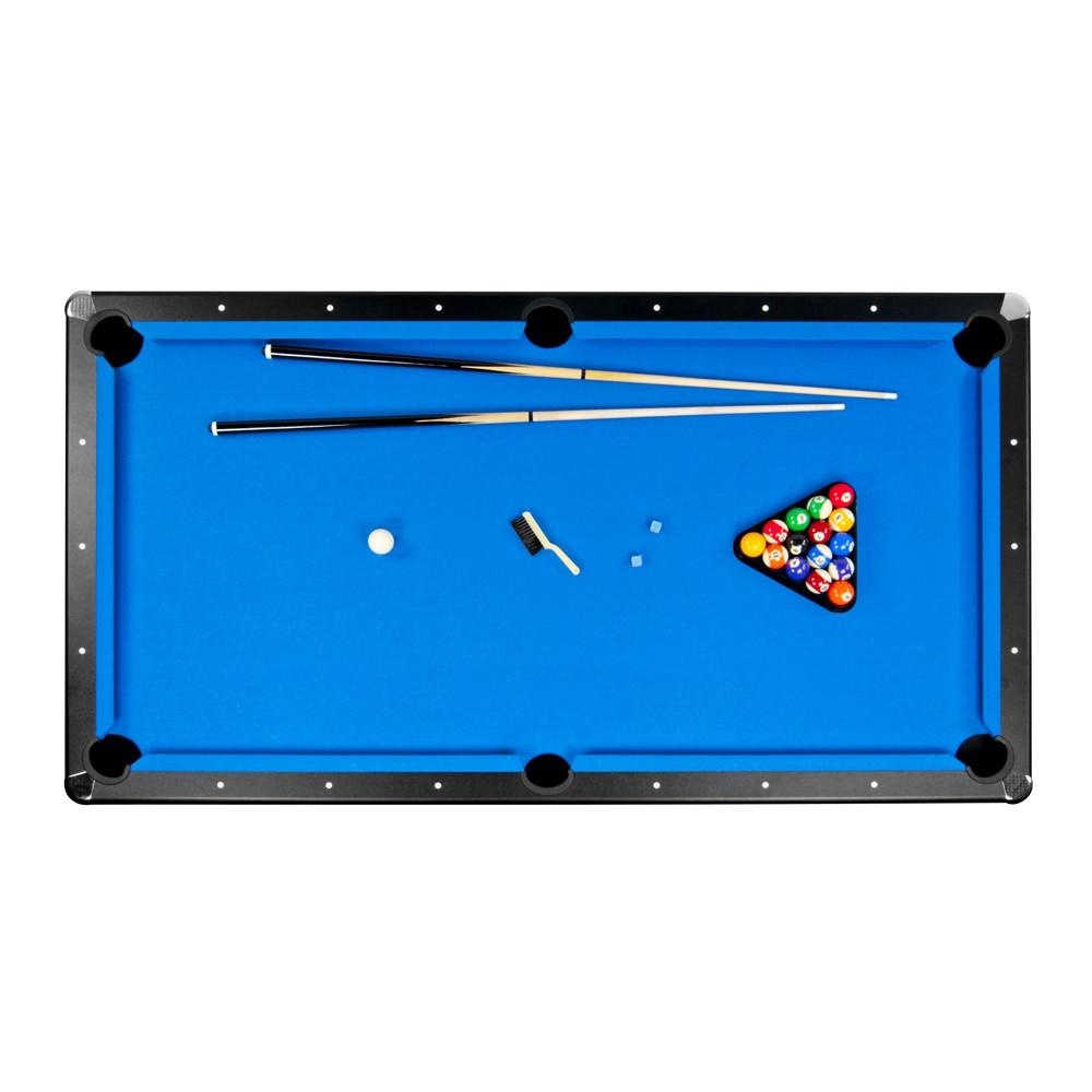 Rack Triangle 8 Ball Pool Billiards Table Pc Standard Size: 8' Hustler Pool Table