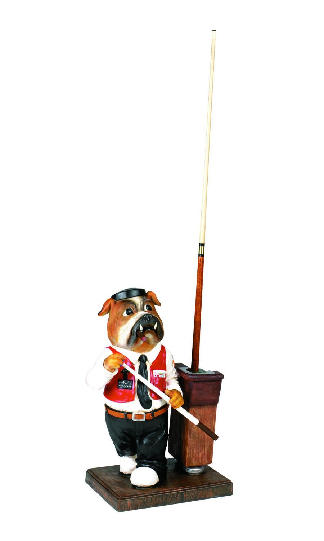Bulldog Pool Cue Holder Gametablesonline Com