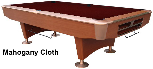 Cherry with Mahogany Cloth