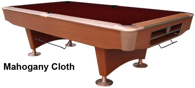 Cherry with Mahogany Cloth