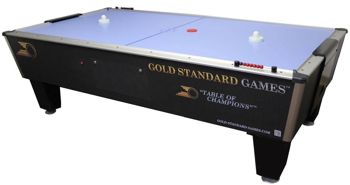 Gold standard tournament ice air powered hockey table - Tournament air hockey table ...