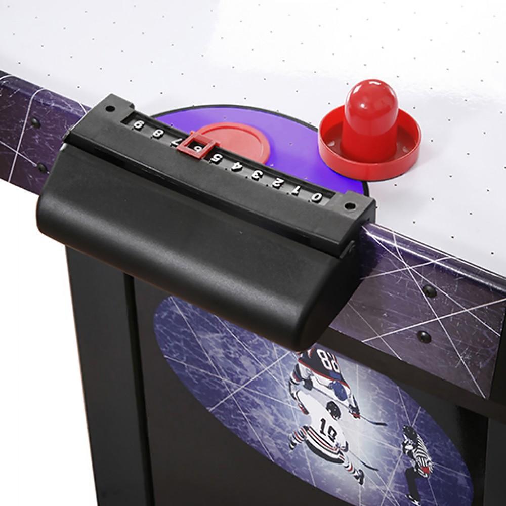 4 39 hat trick air hockey table for Industrial electric motors danbury ct