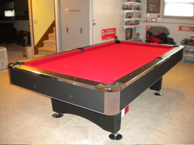 brunswick slate pool table prices with ball return customer submitted picture repair