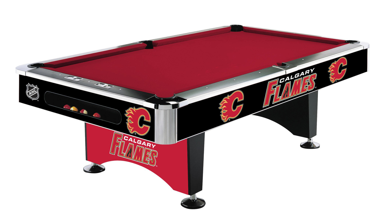 CALGARY FLAMES® 8-FT. POOL TABLE