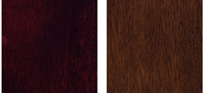 Traditional Mahogany and Warm Chestnut