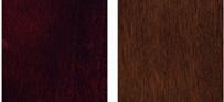 Traditional Mahogany and Warm Chestnut