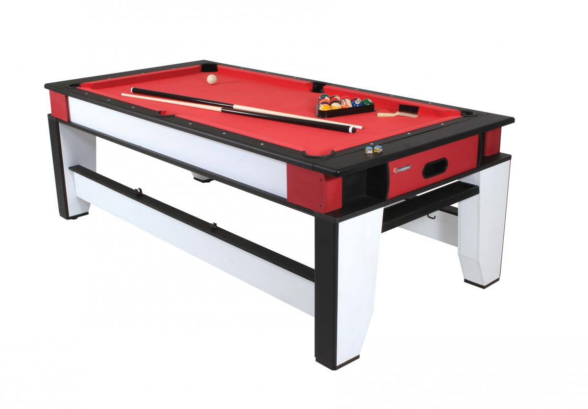 Atomic In Flip Top Game Table Pool Tables GameTablesOnlinecom - Red top pool table
