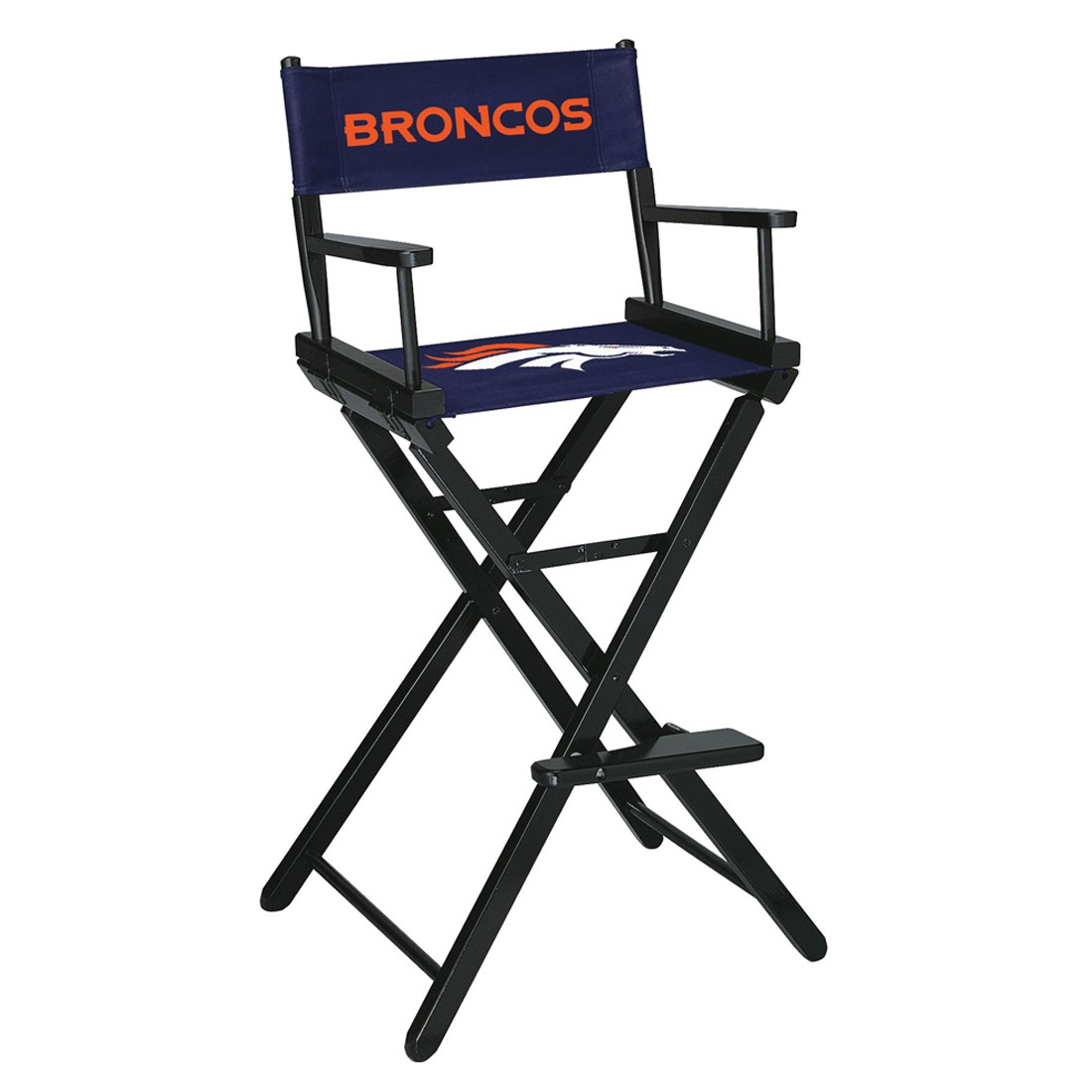 DENVER BRONCOS BAR HEIGHT DIRECTORS CHAIR