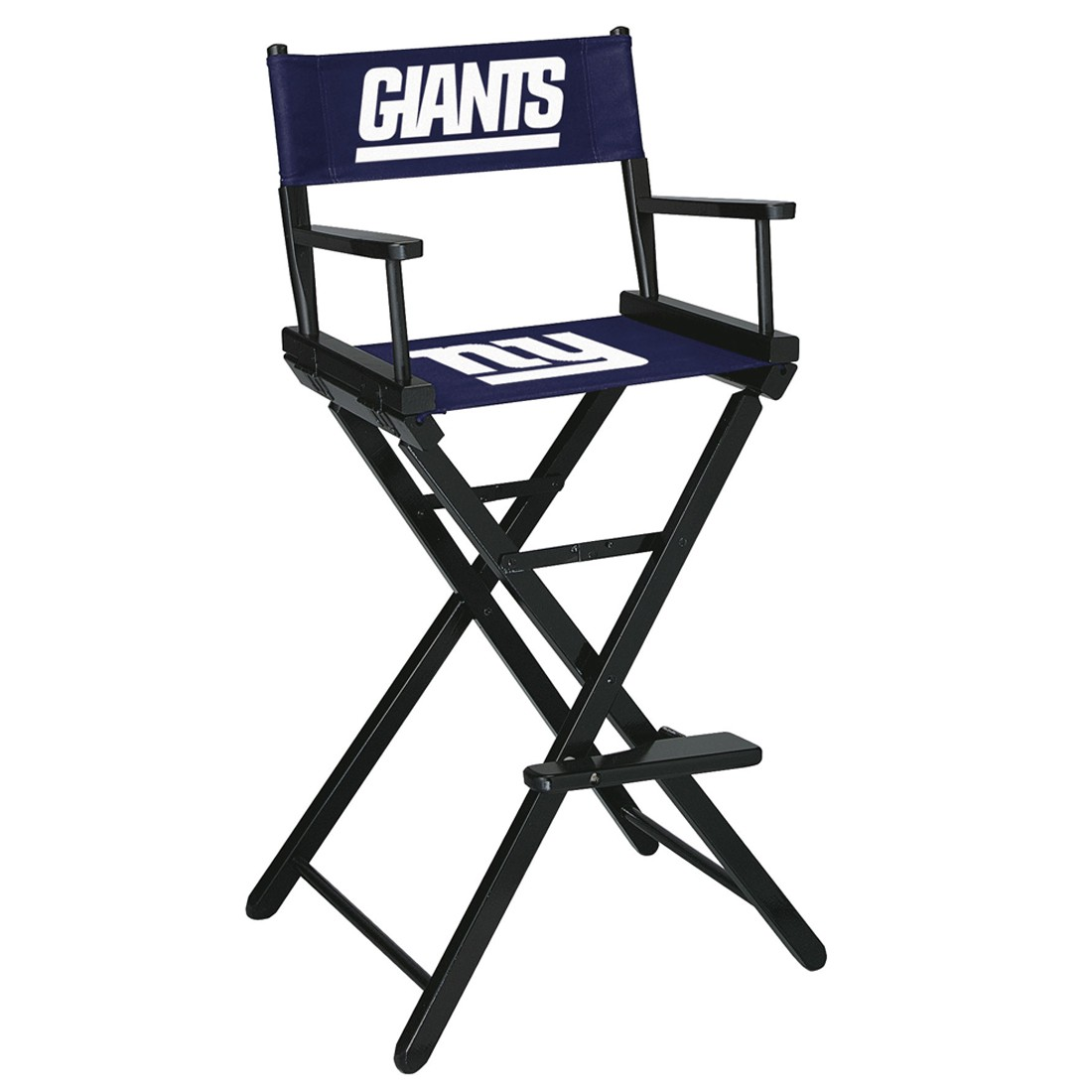 NEW YORK GIANTS BAR HEIGHT DIRECTORS CHAIR