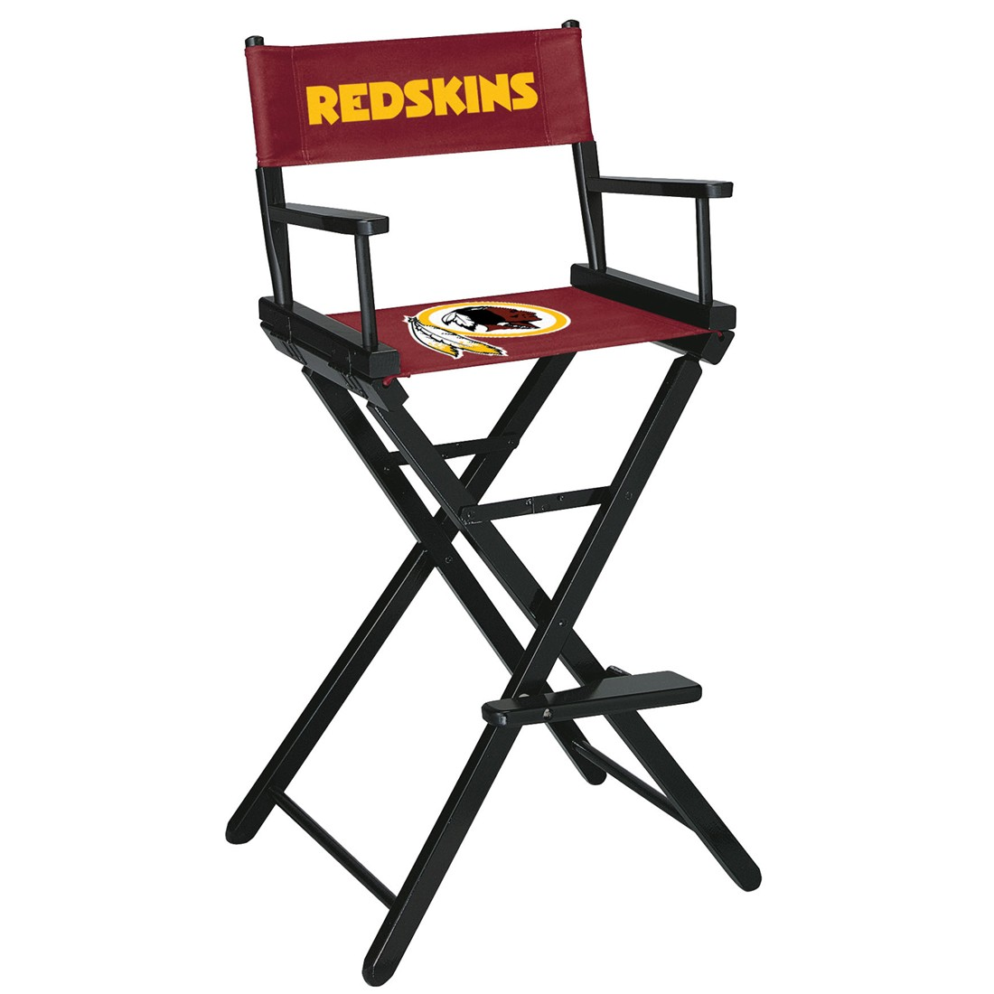 WASHINGTON REDSKINS BAR HEIGHT DIRECTORS CHAIR