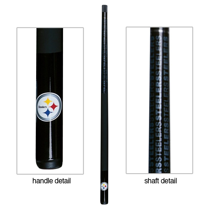 PITTSBURGH STEELERS BILLIARD CUE