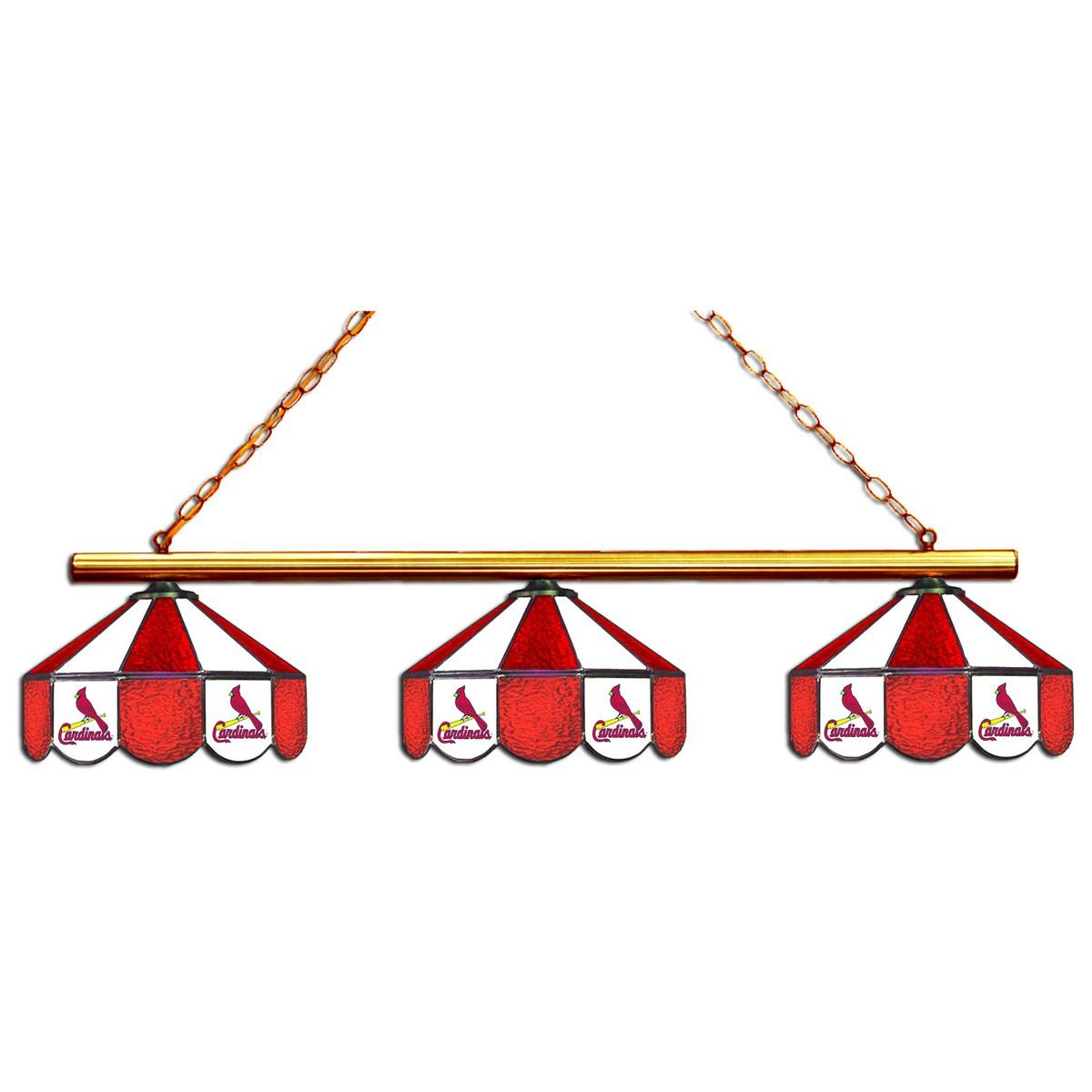 8 Mlb St Louis Cardinals Team Logo Pool Table