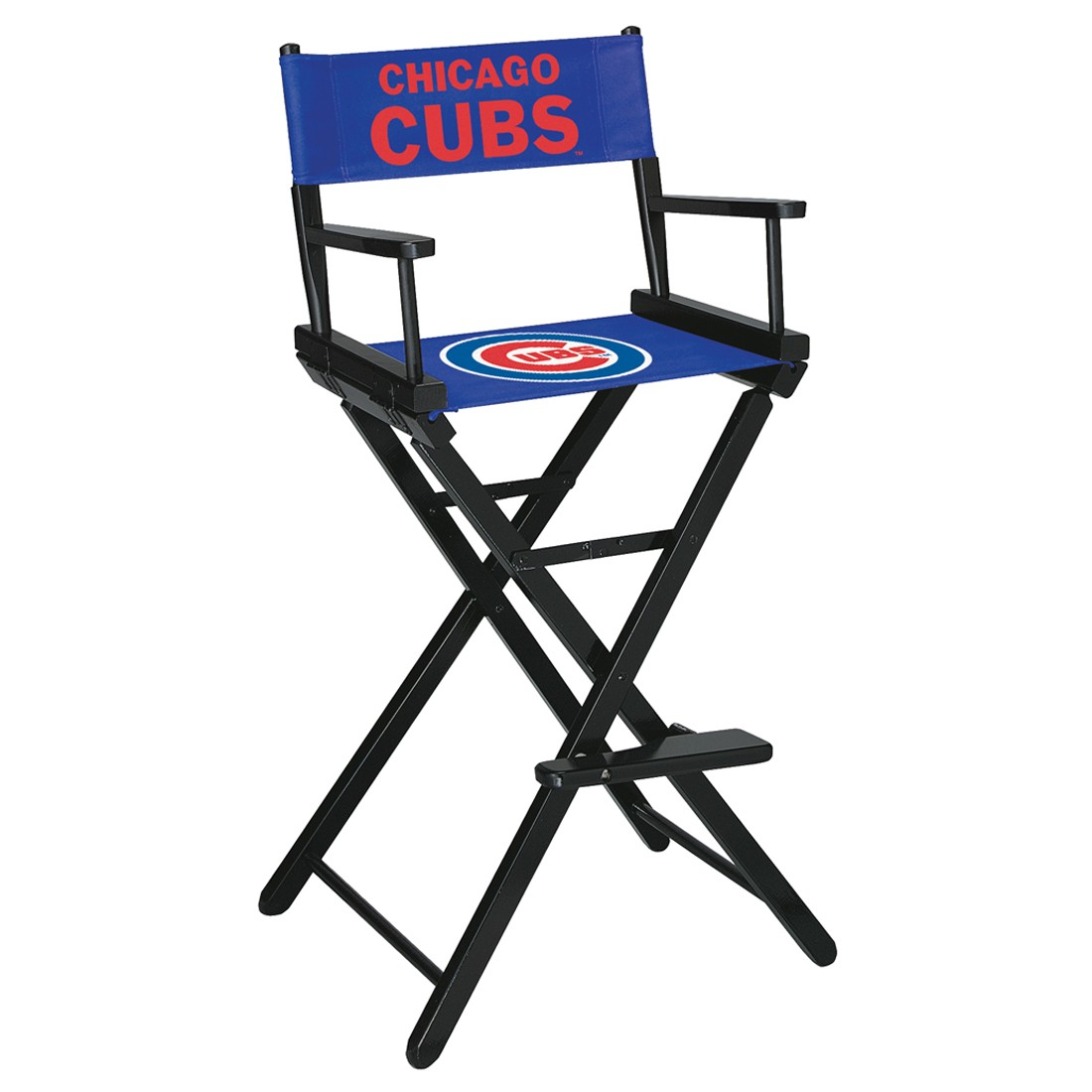 CHICAGO CUBS BAR HEIGHT DIRECTORS CHAIR