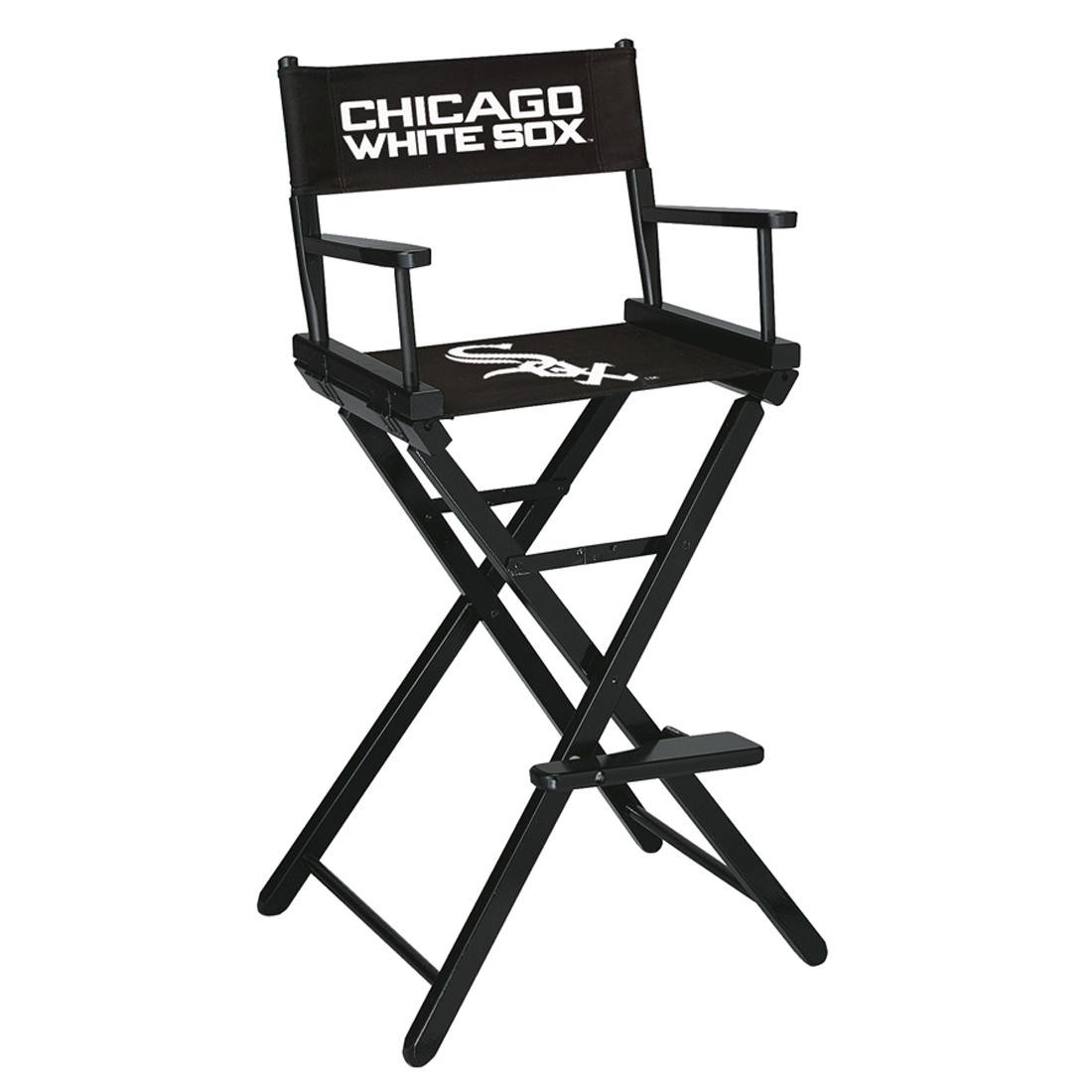 CHICAGO WHITE SOX BAR HEIGHT DIRECTORS CHAIR