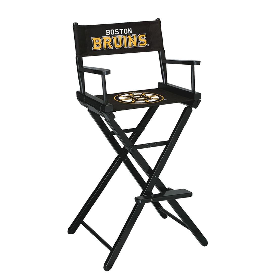 BOSTON BRUINS® BAR HEIGHT DIRECTORS CHAIR