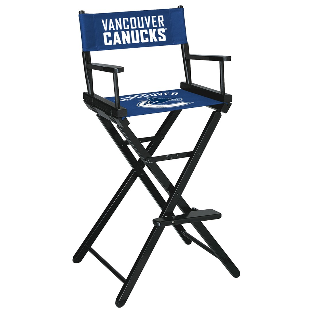 VANCOUVER CANUCKS® BAR HEIGHT DIRECTORS CHAIR