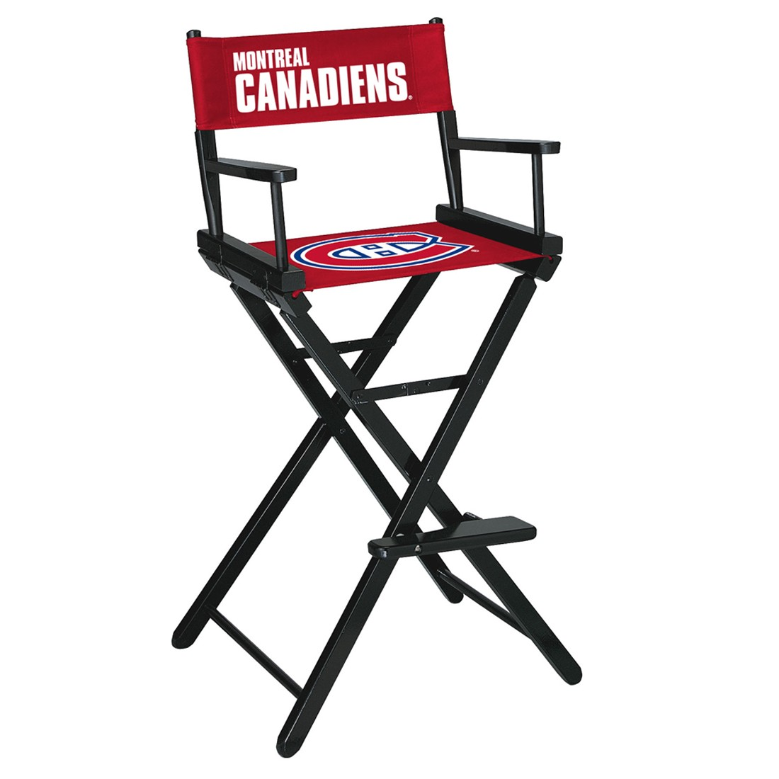 MONTREAL CANADIENS® BAR HEIGHT DIRECTORS CHAIR