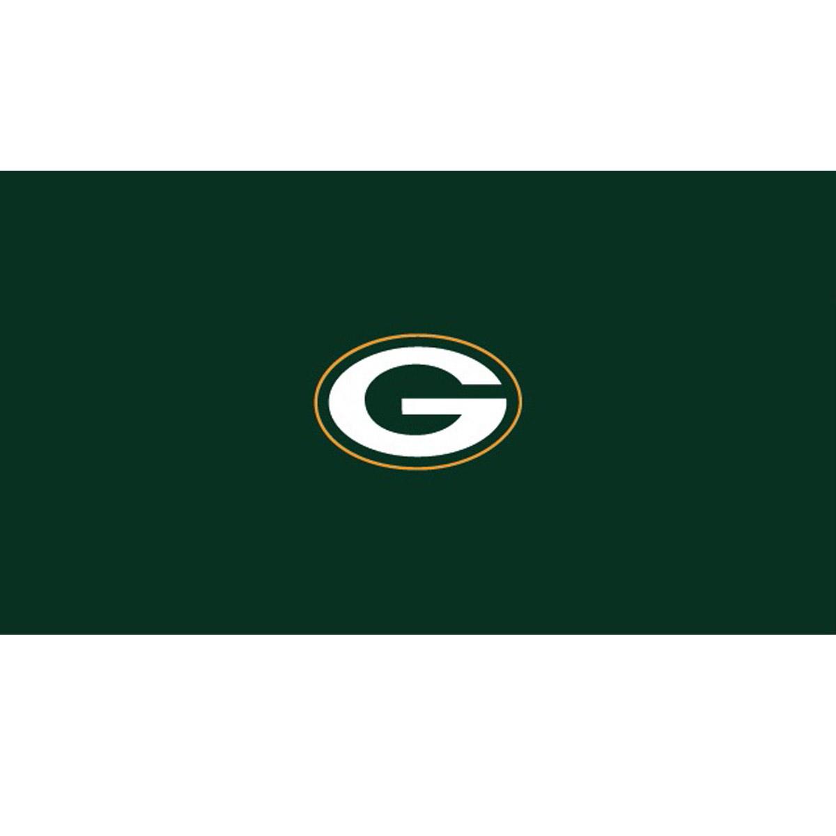 GREEN BAY PACKERS 8-FOOT BILLIARD CLOTH