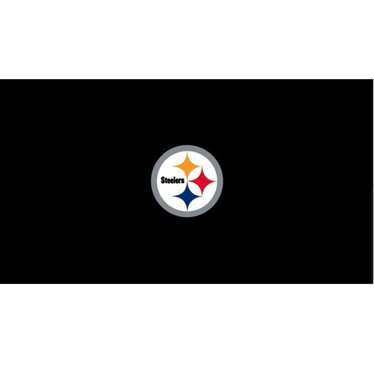 PITTSBURGH STEELERS 8-FOOT BILLIARD CLOTH