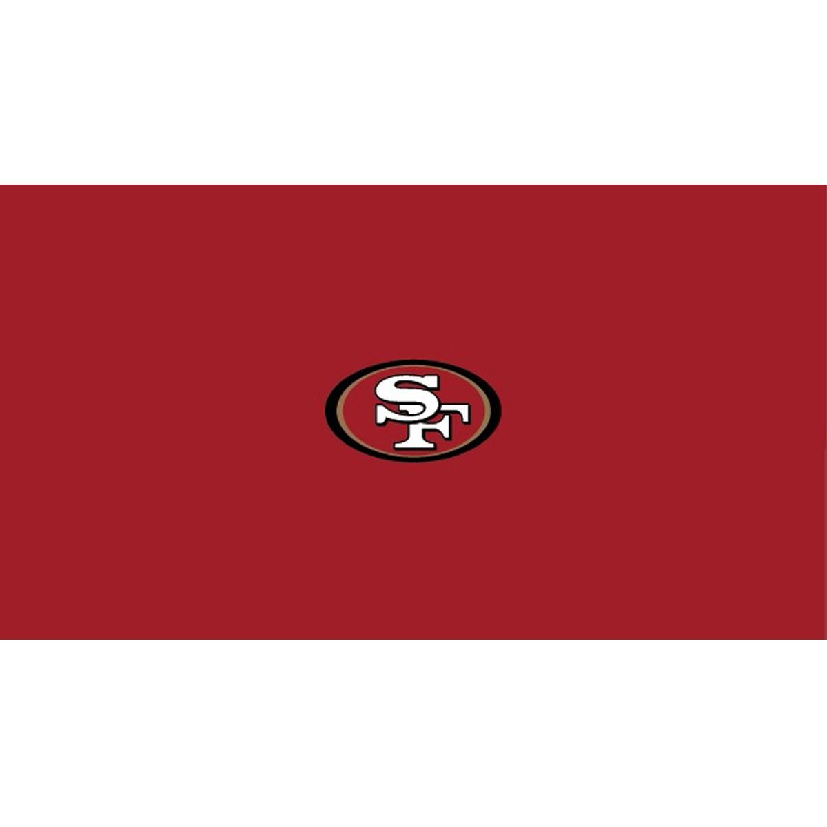 SAN FRANCISCO 49ERS 8-FOOT BILLIARD CLOTH
