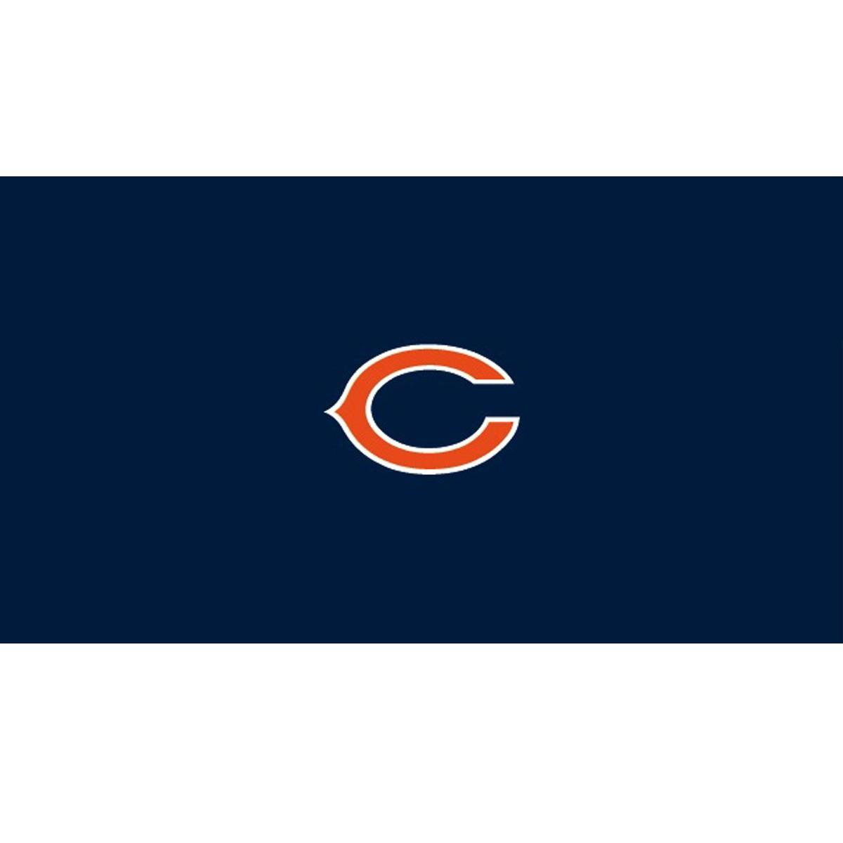 CHICAGO BEARS 8-FOOT BILLIARD CLOTH