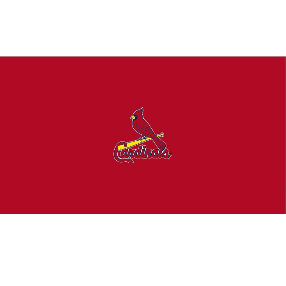 ST. LOUIS CARDINALS 8-FOOT BILLIARD CLOTH
