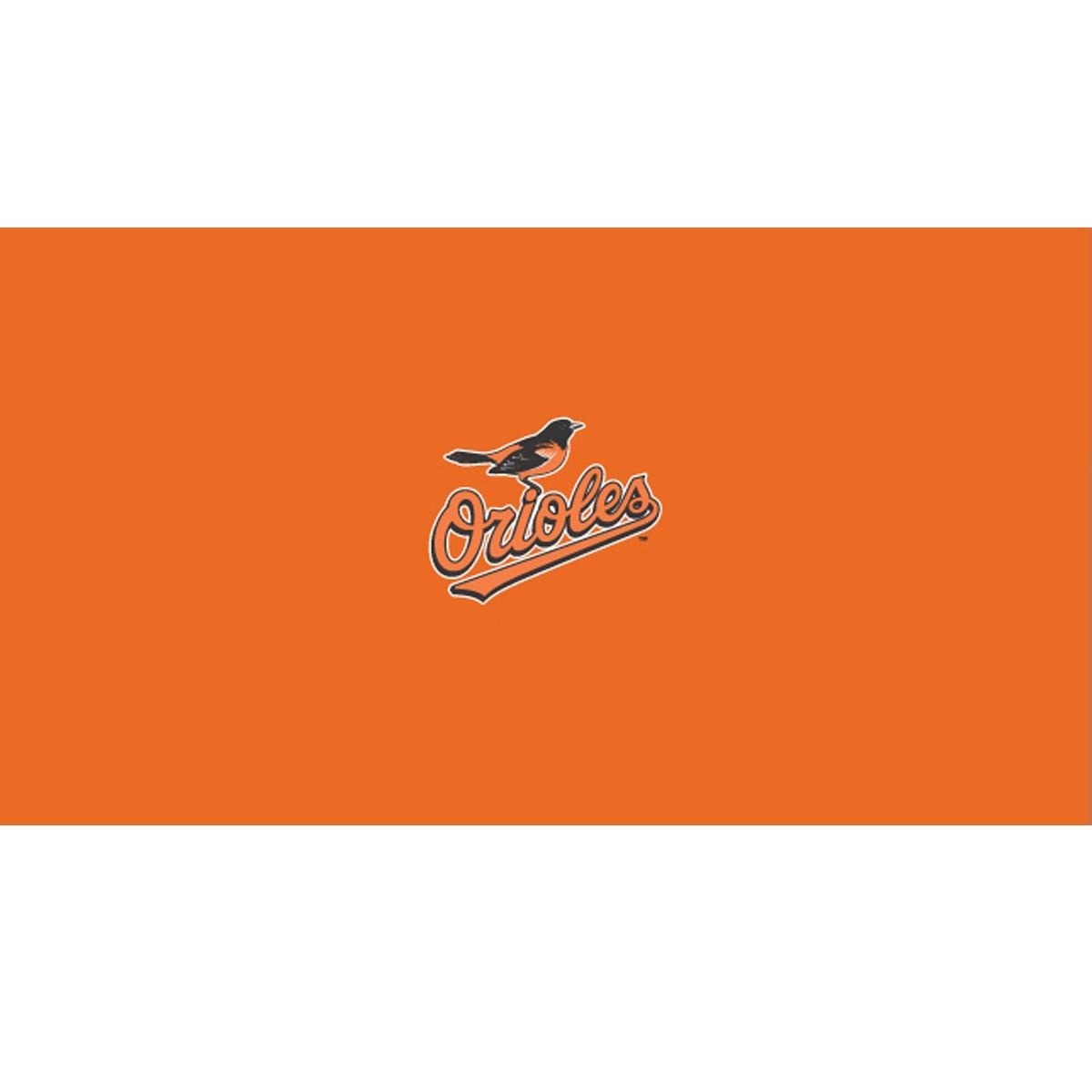 BALTIMORE ORIOLES 8-FOOT BILLIARD CLOTH
