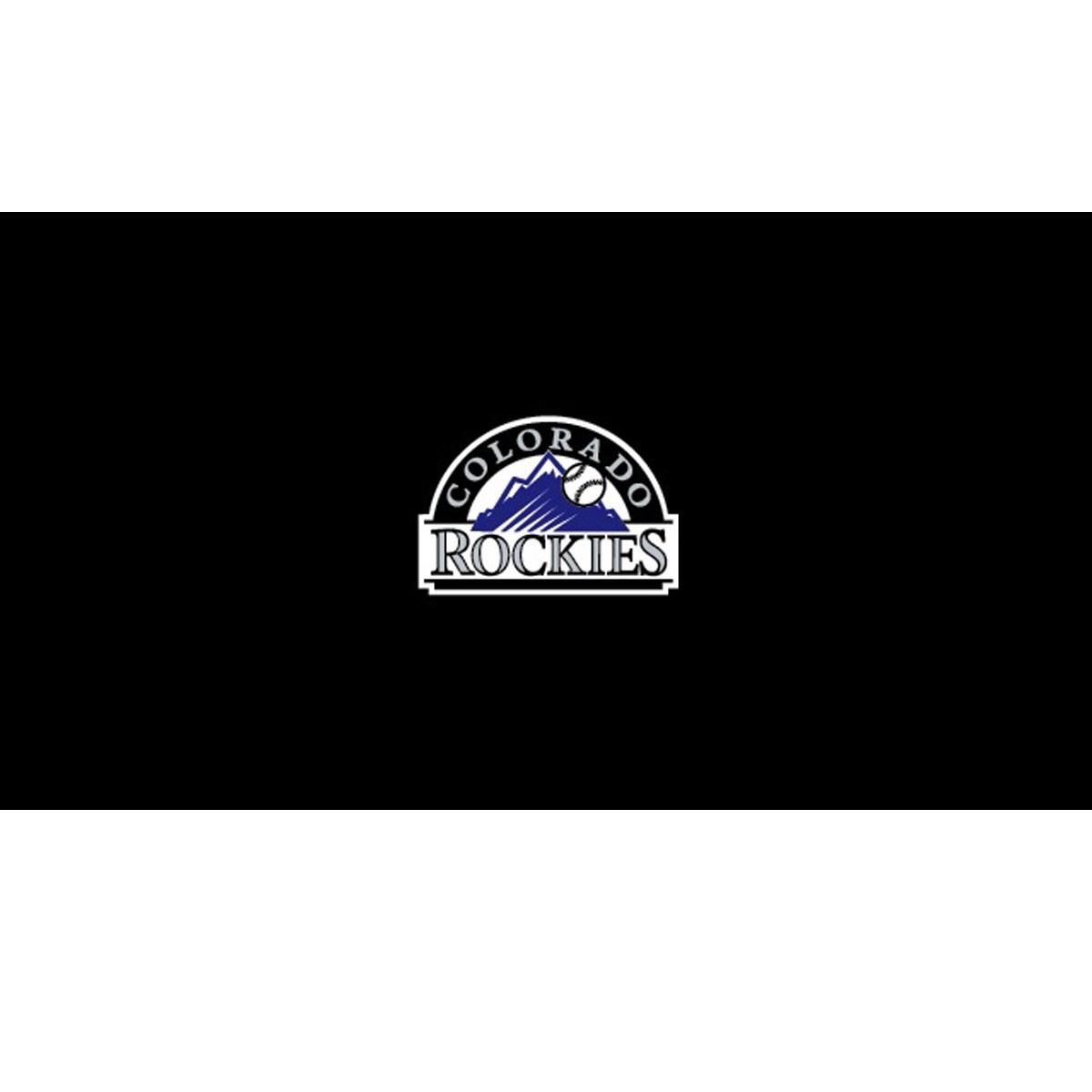 COLORADO ROCKIES 8-FOOT BILLIARD CLOTH