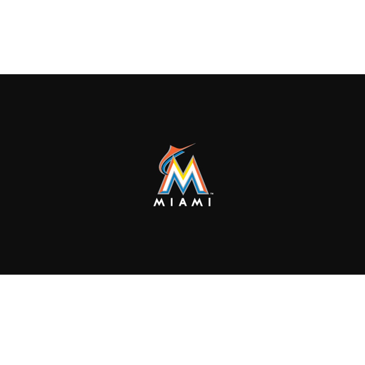MIAMI MARLINS 8-FOOT BILLIARD CLOTH