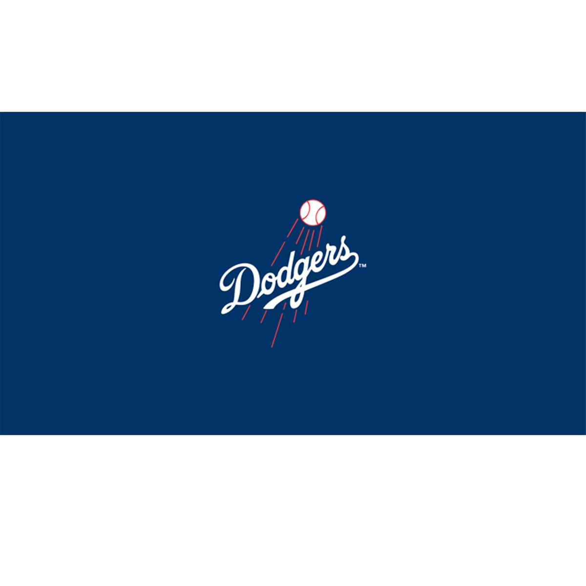 8 Mlb Los Angeles Dodgers Team Logo Pool Table