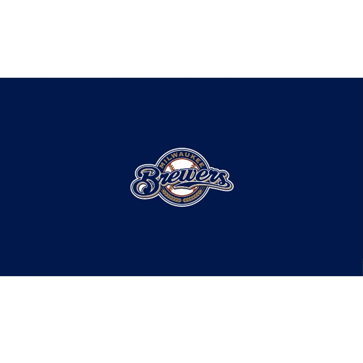 MILWAUKEE BREWERS 8-FOOT BILLIARD CLOTH