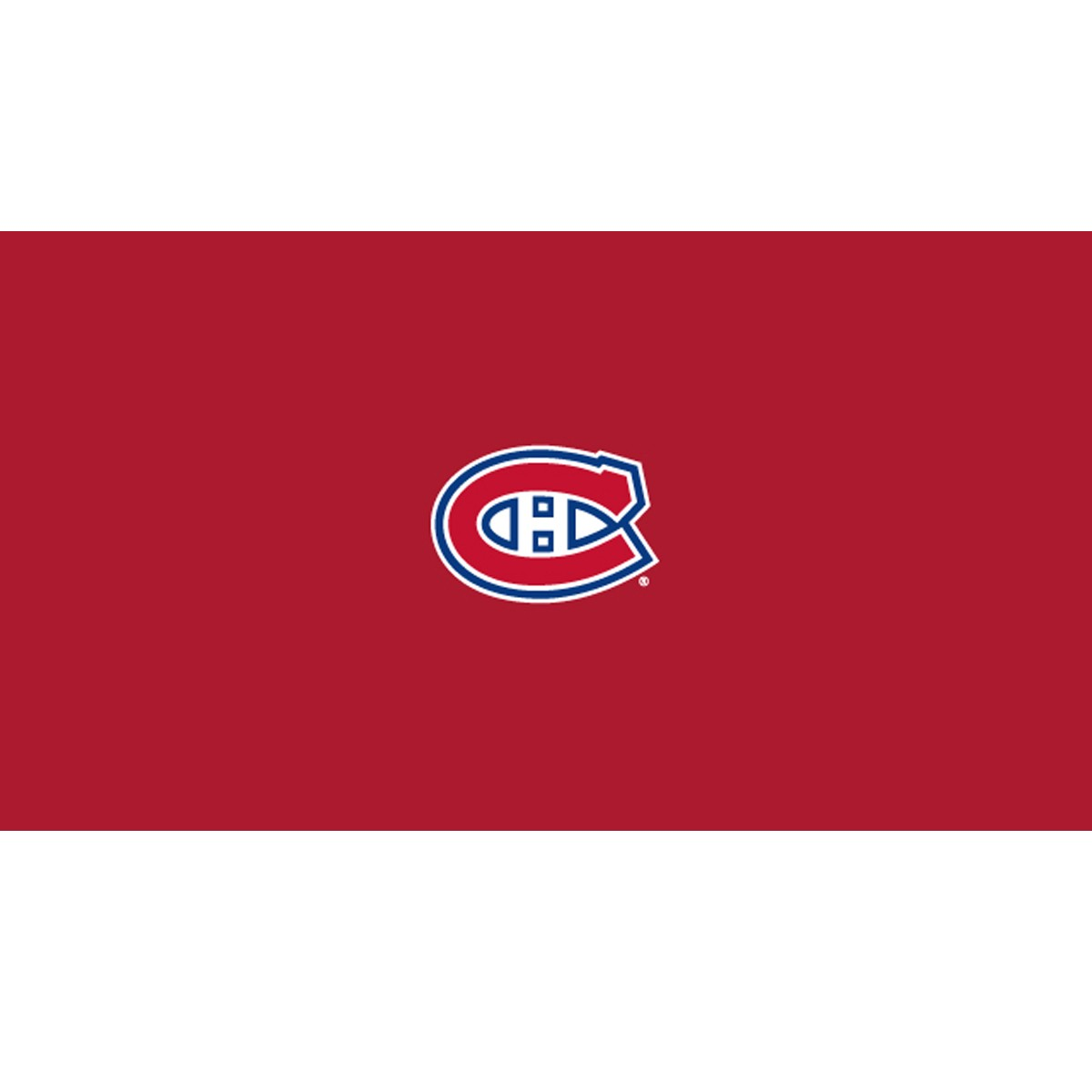 MONTREAL CANADIENS® 8-FOOT BILLIARD CLOTH