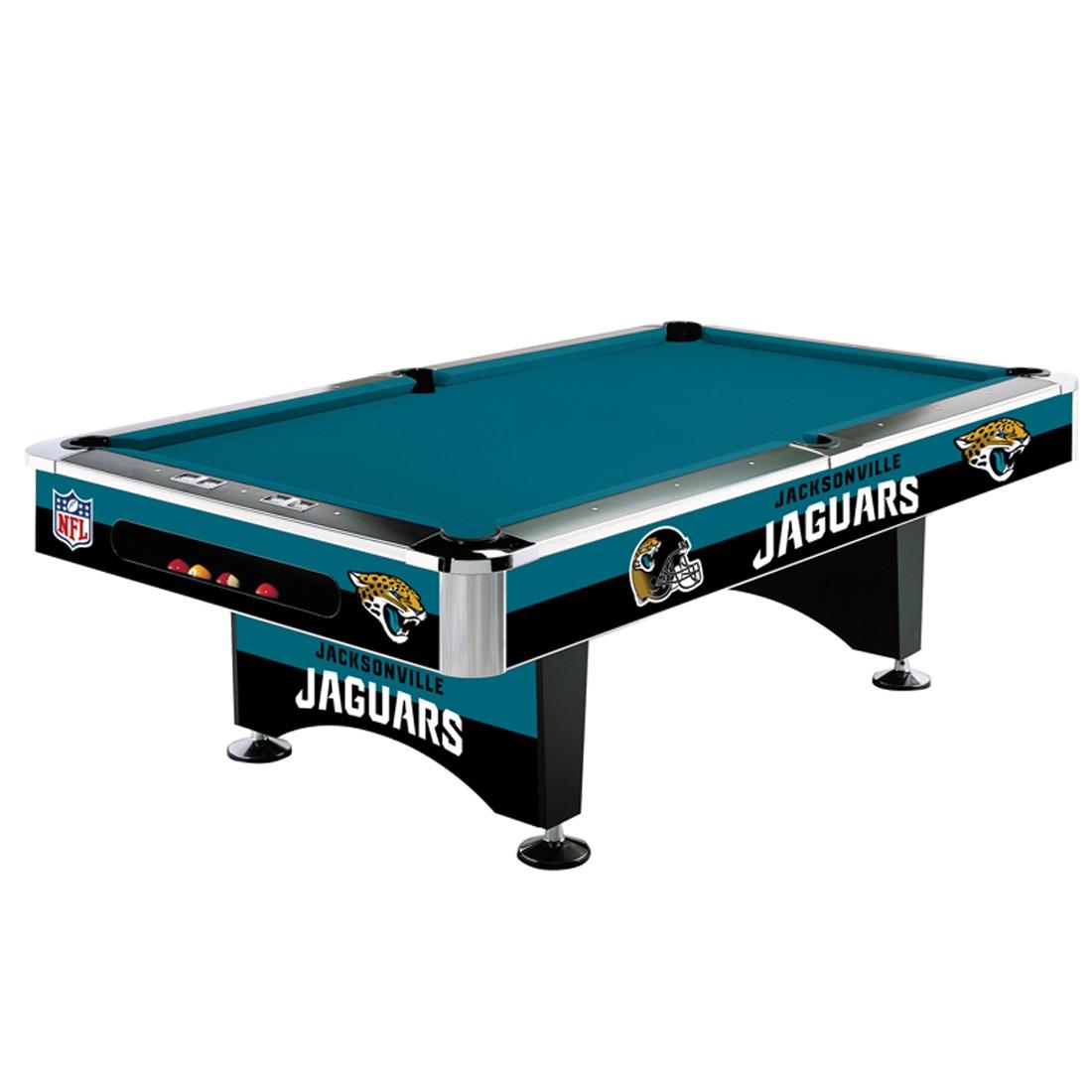 JACKSONVILLE JAGUARS 8-FT. POOL TABLE