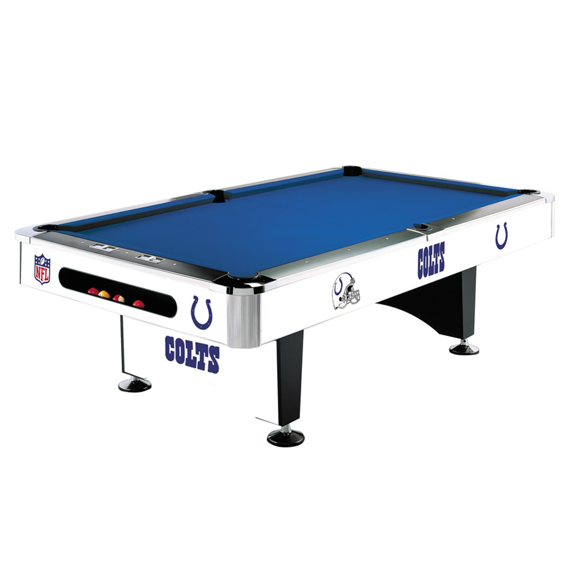INDIANAPOLIS COLTS 8-FT. POOL TABLE