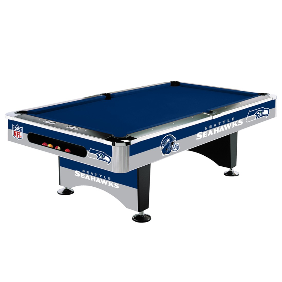 SEATTLE SEAHAWKS 8-FT. POOL TABLE