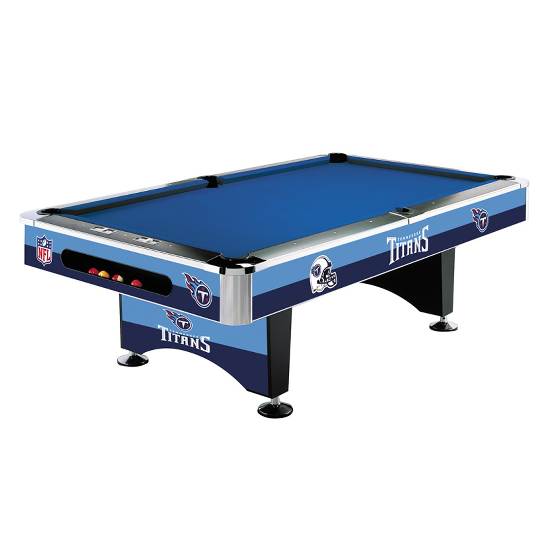 TENNESSEE TITANS 8-FT. POOL TABLE