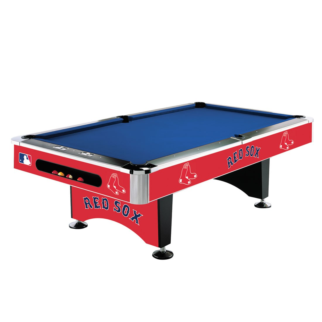 Merveilleux BOSTON RED SOX 8 FT. POOL TABLE