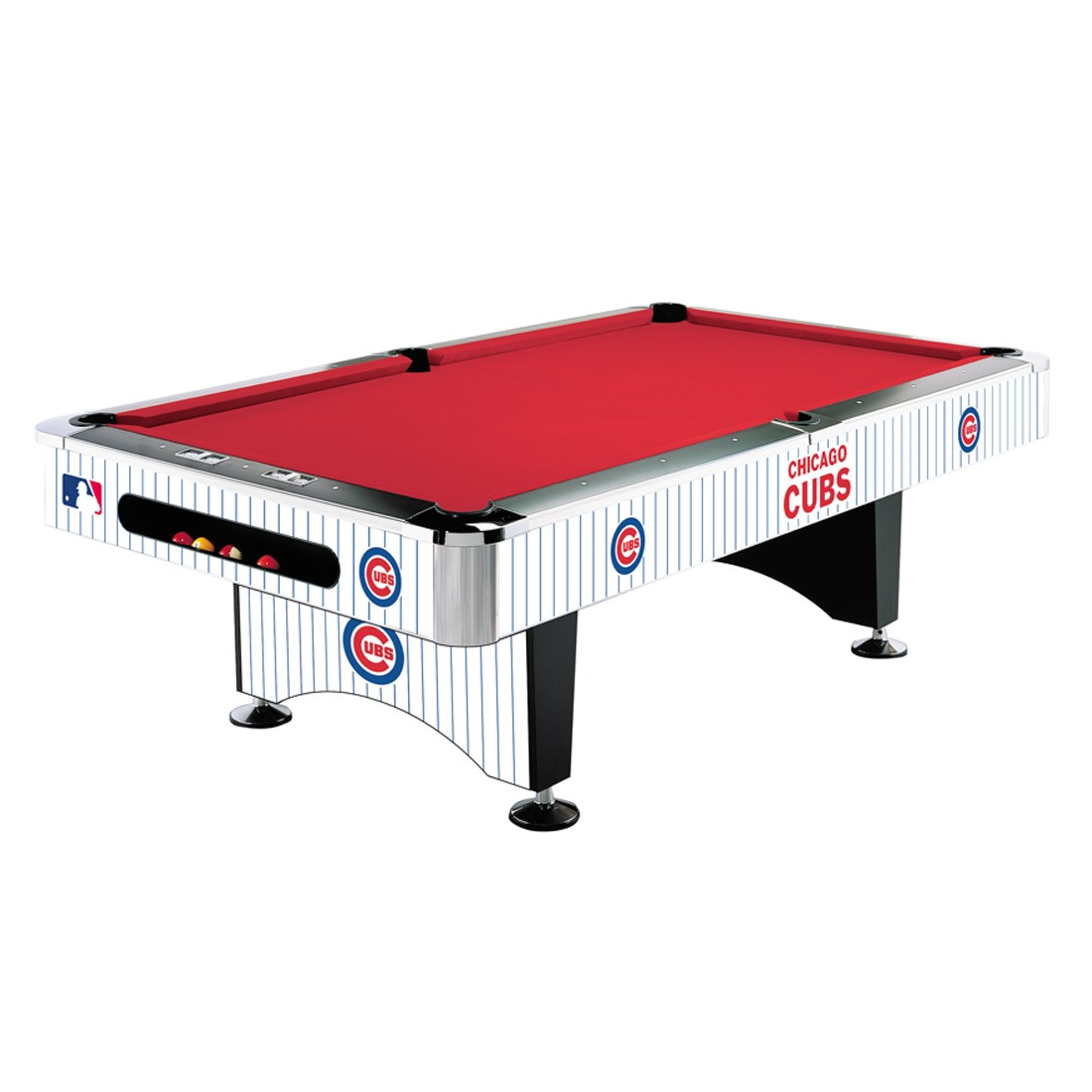 CHICAGO CUBS 8-FT. POOL TABLE