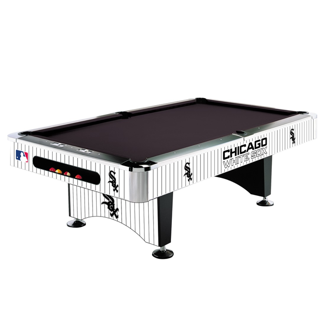 CHICAGO WHITE SOX 8-FT. POOL TABLE