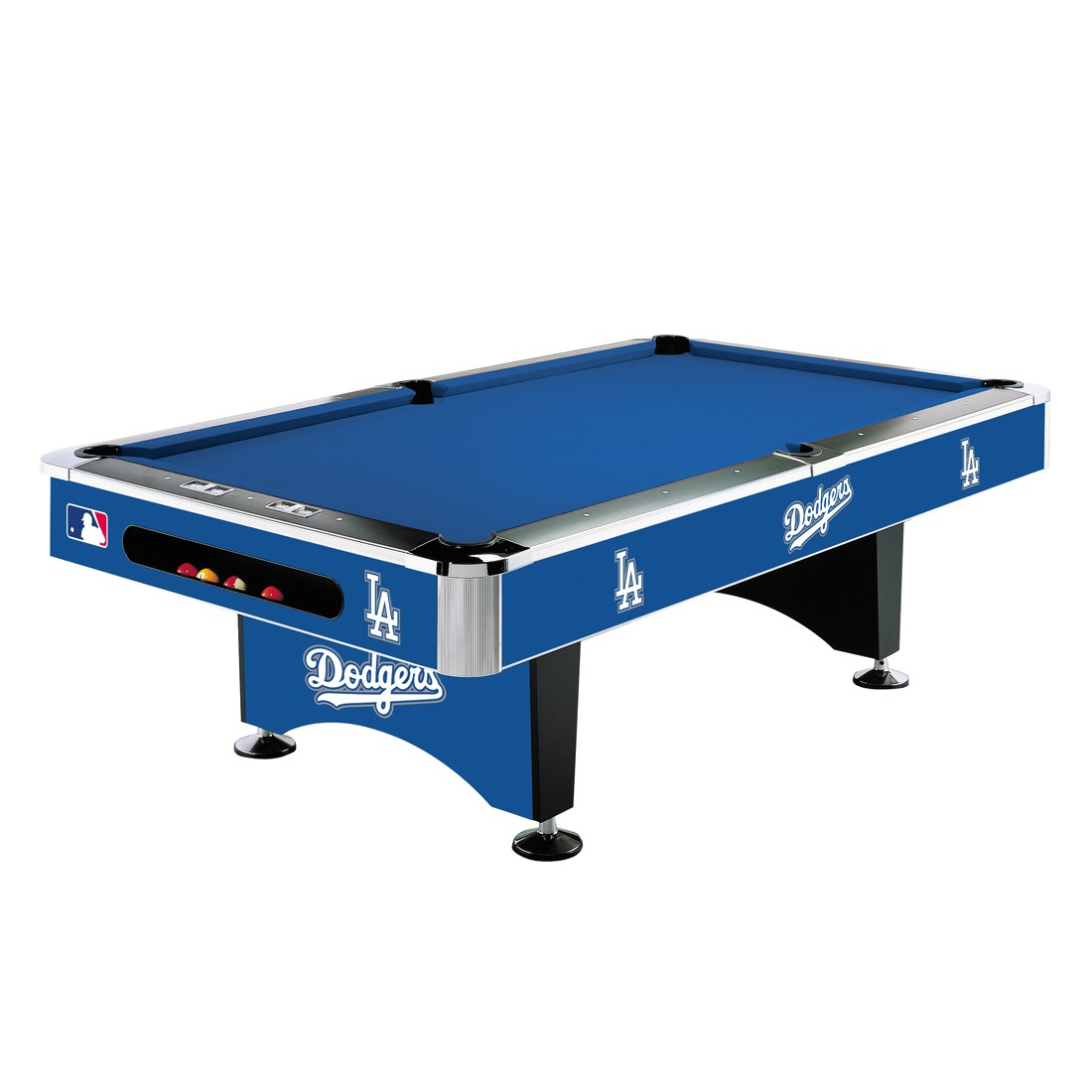 LOS ANGELES DODGERS 8-FT. POOL TABLE