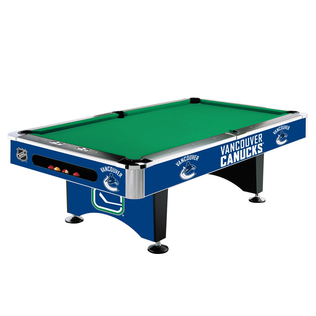 VANCOUVER CANUCKS® 8-FT. POOL TABLE