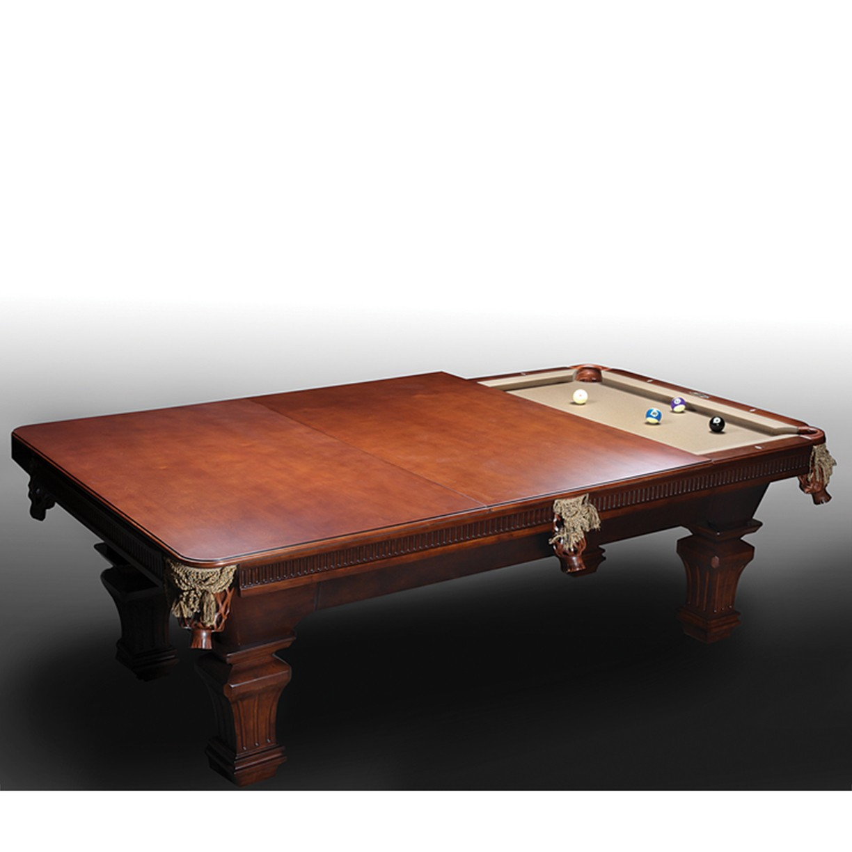 Imperial Lincoln Mahogany Pool Table (Sizes 7' or 8 ...