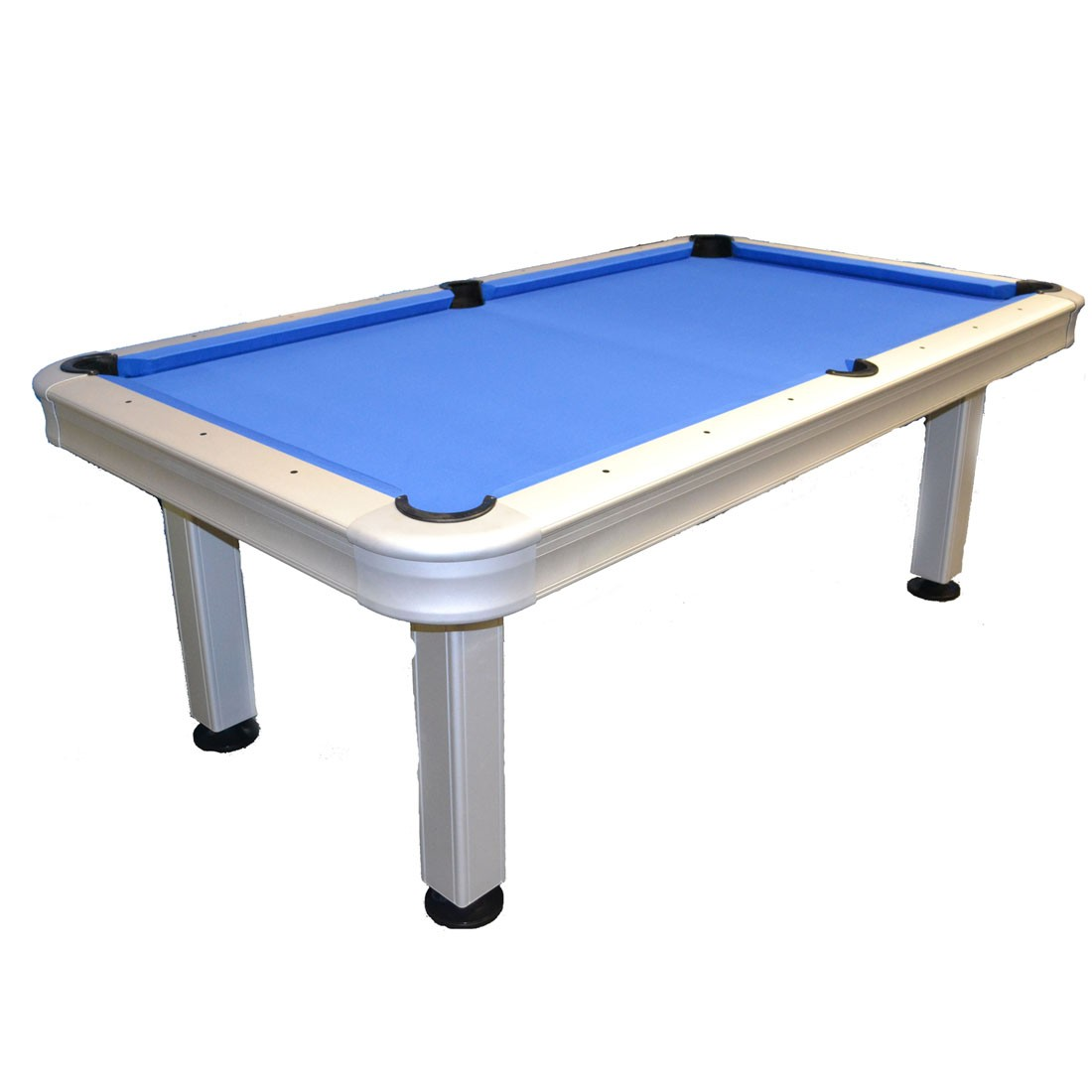 7' Outdoor Pool Table with Accessories - GameTablesOnline.com