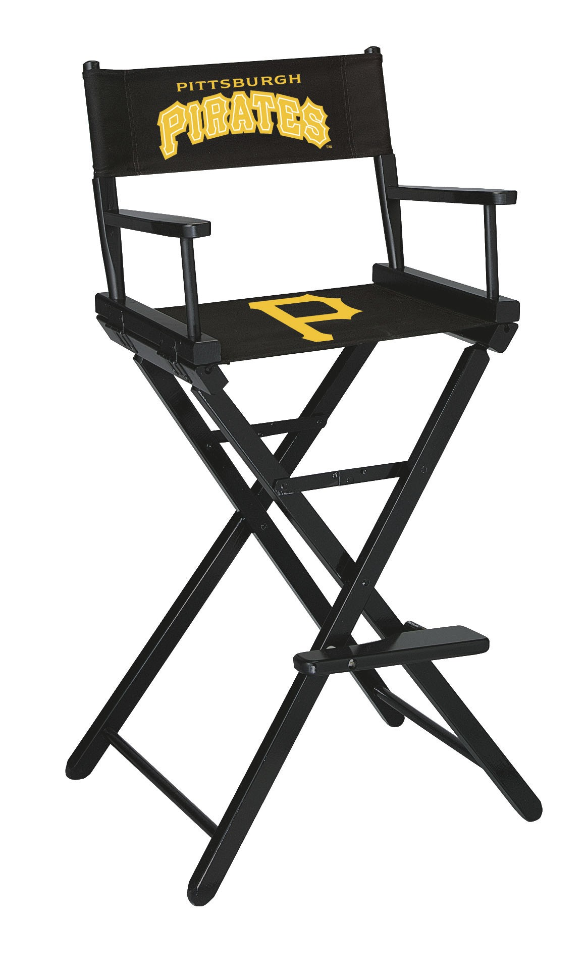 PITTSBURGH PIRATES BAR HEIGHT DIRECTORS CHAIR